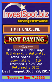 www.investspot.biz - hyip fat or funds