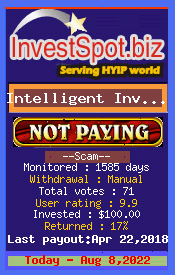 www.investspot.biz - hyip intelligent investment