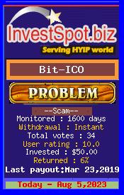 ссылка на мониторинг https://www.investspot.biz/?a=details&lid=10476