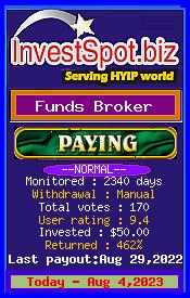 www.investspot.biz - hyip funds broker