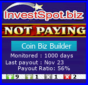 Coin Biz Builder - Monitored by HYIP Monitor InvestSpot